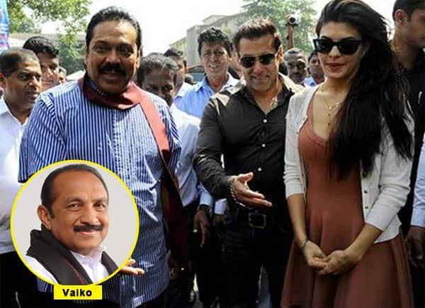 Salman Khan is a traitor, says Tamil leader Vaiko!