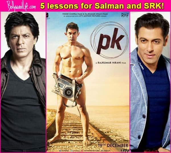 5 lessons Salman Khan and Shah Rukh Khan should learn from Aamir Khan's PK act