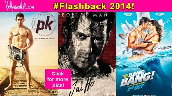 Best of 2014: Aamir Khan's PK, Salman Khan's Jai Ho, Arjun Kapoor's 2 States- 10 posters which instantly grabbed eyeballs
