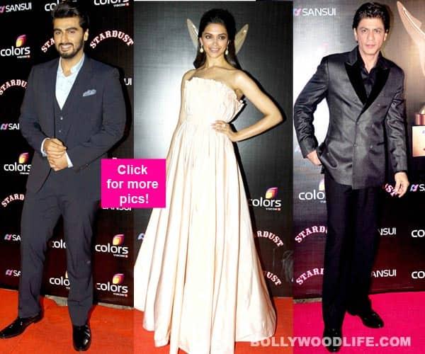 Deepika Padukone, Arjun Kapoor, Shah Rukh Khan attend Stardust Awards 2014 – view pics!