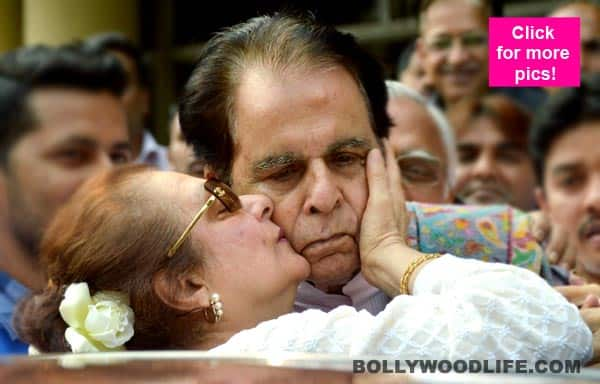Lata Mangeshkar, Anupam Kher wish Dilip Kumar as he returns home on his birthday
