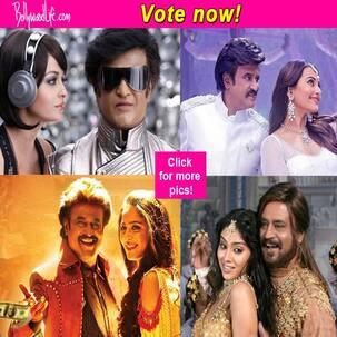 Aishwarya Rai Bachchan, Sonakshi Sinha, Shriya Saran, Nayanthara - who looks best with Rajinikanth? Vote!