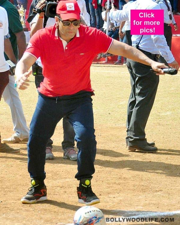 Salman Khan launches a football movement – view pics!