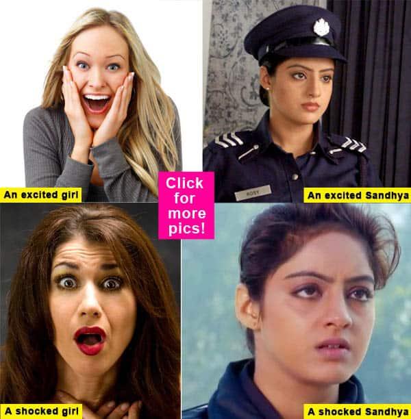 Diya Aur Baati Hum: Deepika Singh aka Sandhya and her not so many expressions -view pics!