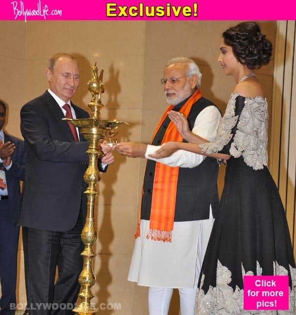When Sonam Kapoor met Narendra Modi and Vladimir Putin…