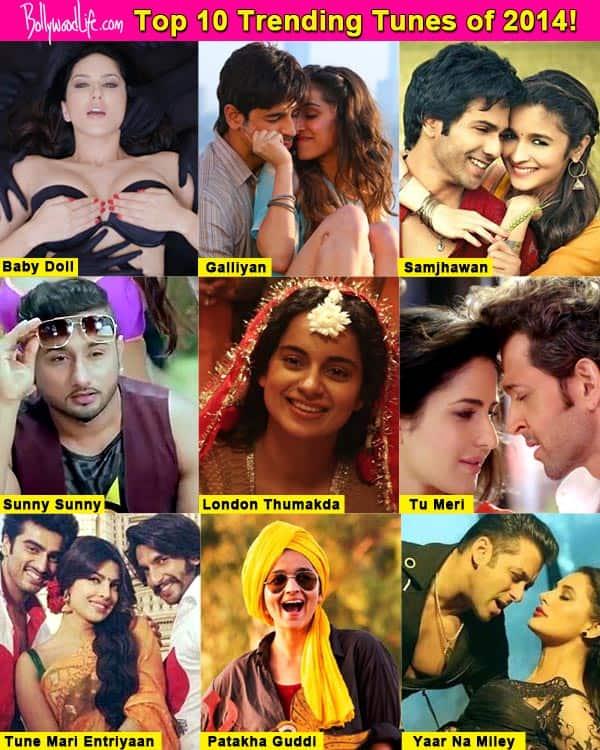 Chartbusters of 2014: Sunny Leone's Baby Doll, Salman Khan's Yaar Na Miley, Sidharth Malhotra-Sharddha Kapoor's Galliyan top the list!
