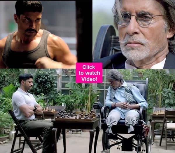 Wazir teaser: Amitabh Bachchan-Farhan Akhtar starrer looks gripping and intense – watchvideo!