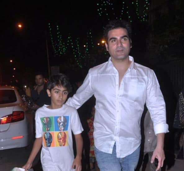 Arbaaz Khan: My son Arhaan is fascinated by films!