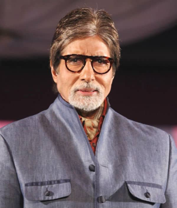 Whom did Amitabh Bachchan spend his weekend with?