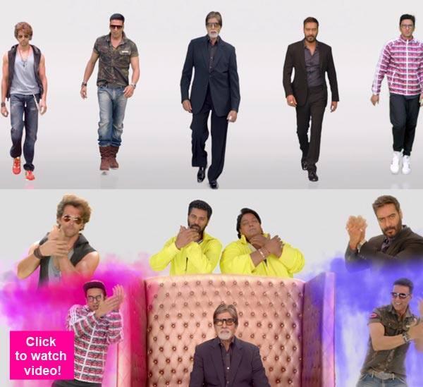 Amitabh Bachchan, Ranveer Singh and Akshay Kumar rock the Birju song from Hey Bro – watch video!