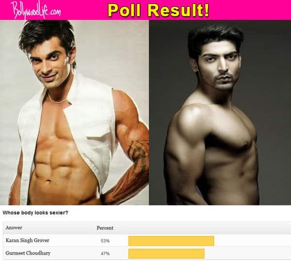 Karan Singh Grover has a sexier body than Gurmeet Choudhary, say fans!
