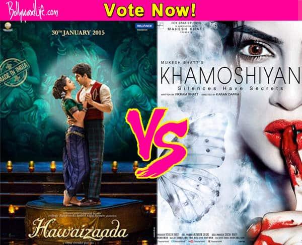 Gurmeet Choudhary's Khamoshiyan or Ayushmann Khurrana's Hawaizaada – which film will you watch? Vote!
