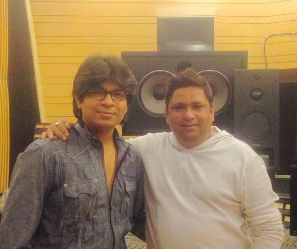 Ankit Tiwari records a song for Adhyayan Suman-Sara Loren's Ishq Click!