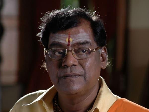 Kota Srinivasa Rao get felicitated on the sets of Trivikram's film for receiving a Padma Shri