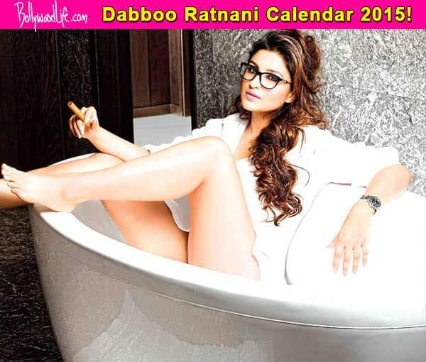 Dabboo Ratnani Calendar 2015: Girl next door Parineeti Chopra, turns a naughty babe!