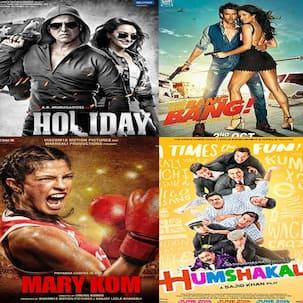 Holiday, Humshakals, Bang Bang, Mary Kom, The Shaukeens - Here's the best music mashup from 2014!