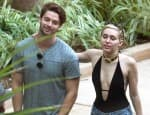 Miley Cyrus topless beach day out with Patrick Schwarzenegger