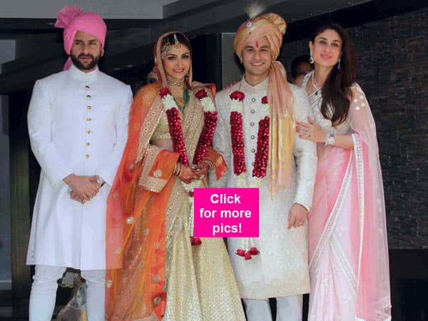 Soha Ali Khan and Kunal Kemmu finally get hitched – view pic!