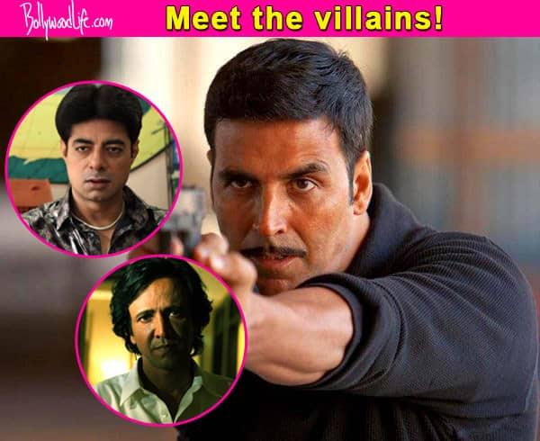 Akshay Kumar's Baby stars some of the baddest villains- view pics!