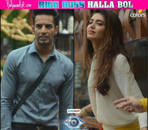 Bigg Boss Halla Bol: Mahek Chahal, Karishma Tanna, Dimpy Ganguly, Pritam Singh nominated, Karishma tells Upen he is 'the one'!