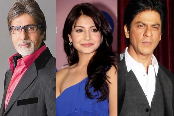 Amitabh Bachchan, Anushka Sharma, Shah Rukh Khan wish fans Happy New Year