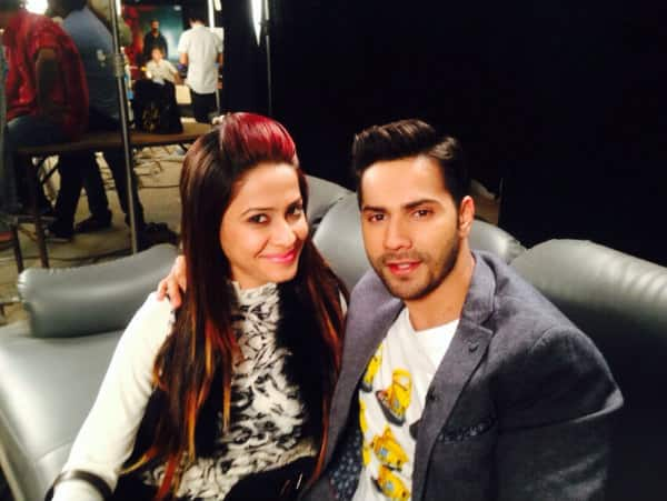 Dimple Jhangiani: I waited for an hour just to meet Varun Dhawan