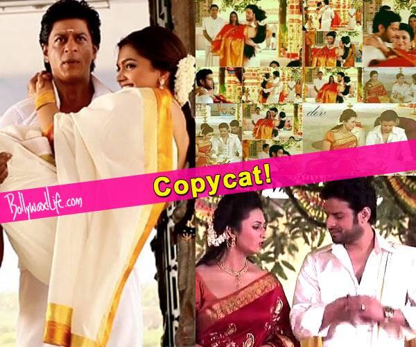 Copycats! Yeh Hai Mohabbatein's Ishita and Raman ape SRK – Deepika's Chennai Express act!