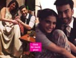 Filmfare Awards 2015: Fawad Khan celebrates his first win with wife Sadaf and Khoobsurat co-star Sonam Kapoor- view pics!