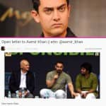 An aam aadmi's open letter to Aamir Khan on AIB Roast comments goes viral on Twitter – Read full letter!