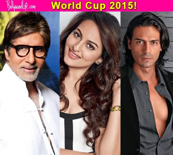 ICC World Cup 2015: Amitabh Bachchan, Sonakshi Sinha, Arjun Rampal congratulate team India for their win against Pakistan!