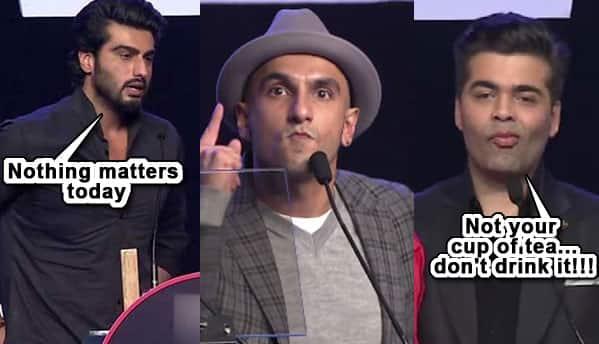 Karan Johar and Arjun Kapoor finally react to #AIB National Shame!