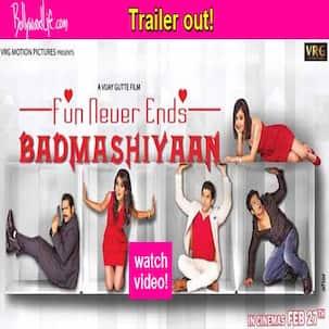 Badmashiyaan trailer: Sharib Hashmi rocks as the Haryanvi don!