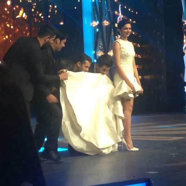 Filmfare Awards 2015: Salman Khan, Sidharth Malhotra, Kapil Sharma and Karan Johar woo Deepika Padukone – Watch video!