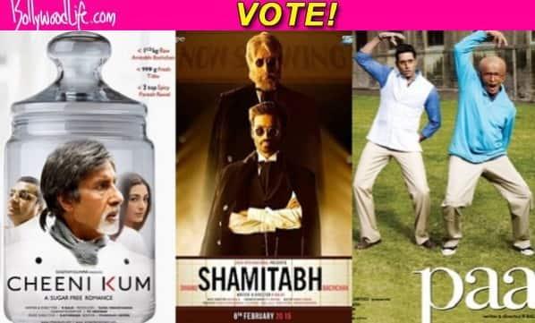 Cheeni Kum, Paa or Shamitabh – Which R Balki-Amitabh Bachchan film did you like the most? Vote!