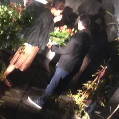 Leaked: Ranbir Kapoor and Deepika Padukone enjoy during the shoot of Tamasha in Delhi – View pics!