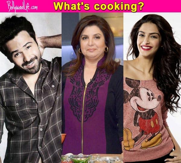 Emraan Hashmi and Sonam Kapoor to be the next guests on Farah Khan's show Farah Ki Daawat!