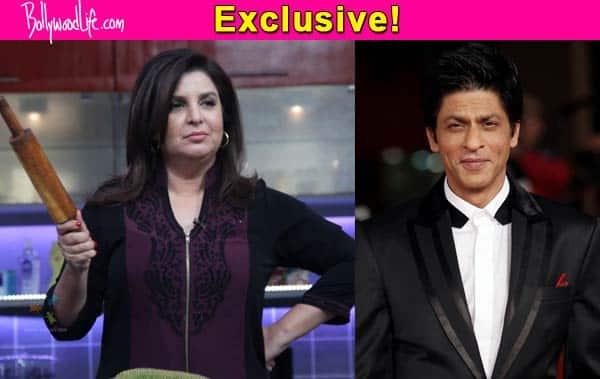 Shah Rukh Khan will NOT be a part of Farah Khan's show Farah Ki Daawat?