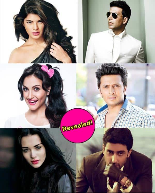 Jacqueline Fernandez, Amy Jackson, Elli Avram to romance Akshay Kumar, Abhishek Bachchan and Riteish Deshmukh in Housefull 3?
