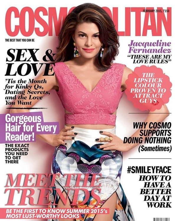 Jaqueline Fernandez looks gorgeous on a magazine cover!