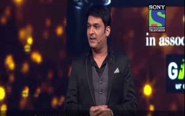 Filmfare Awards 2015: Kapil Sharma makes fun of Tabu and Madhuri Dixit Nene!