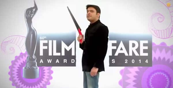 Filmfare Awards 2015: Kapil Sharma promises a different filmfare awards show – Watch video!