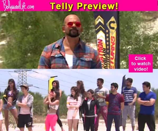 Khatron Ke Khiladi 6: Rohit Shetty rags Siddharth Bhardwaj and Sana Khan – watch video!