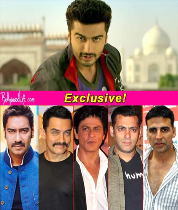 Filmfare Awards 2015: Arjun Kapoor dedicates Superman song to Shah Rukh Khan, Salman Khan, Aamir Khan, Akshay Kumar and Ajay Devgn!