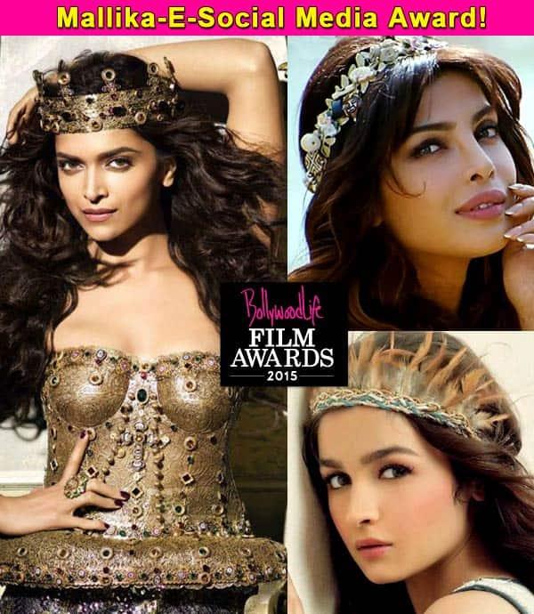 BollywoodLife Film Awards 2015: Priyanka Chopra, Deepika Padukone or Alia Bhatt are nominated in the Most Popular Female Celeb category!