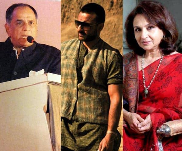 Censor Board chief Pahlaj Nihalani accusing Sharmila Tagore of bias towards son Saif Ali Khan's Omkara?