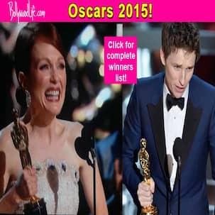Oscars 2015 winners: Eddie Redmayne, Julianne Moore walk away with the trophies - view complete list!