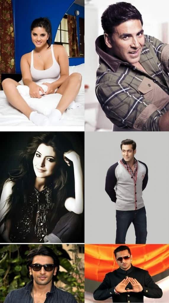 Alia Bhatt, Salman Khan, Yo Yo Honey Singh, Sunny Leone, Akshay Kumar and Anushka Sharma – some of the most hilarious middle names!