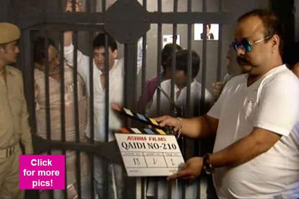 Here's the first look of Qaidi No. 210; film based on Salman Khan's blackbuck poaching case!