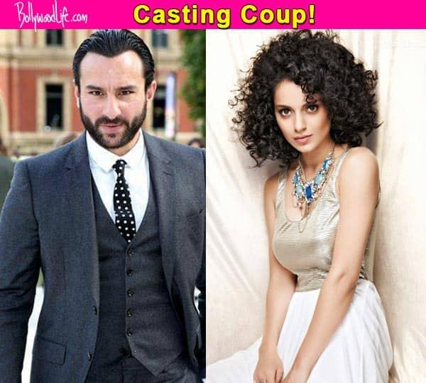 Confirmed! Kangana Ranaut and Saif Ali Khan to pair up for Sujoy Ghosh's next!