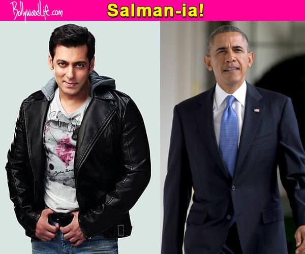 Salman Khan beats Barack Obama to be the Most Admired Personality!